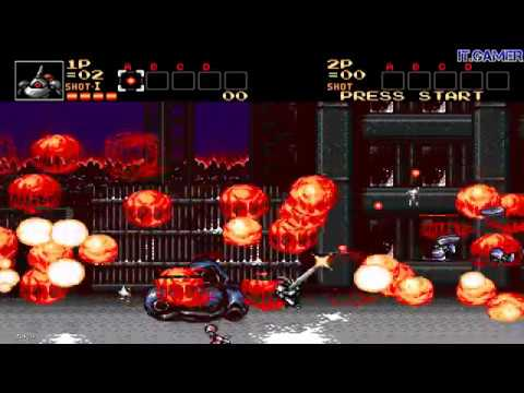 CONTRA: HARD CORPS - NEW BROWNY (RED) WEAPONS v1