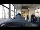 Поездка на трамвае Tatra KT3R по маршруту 22 (часть 1)