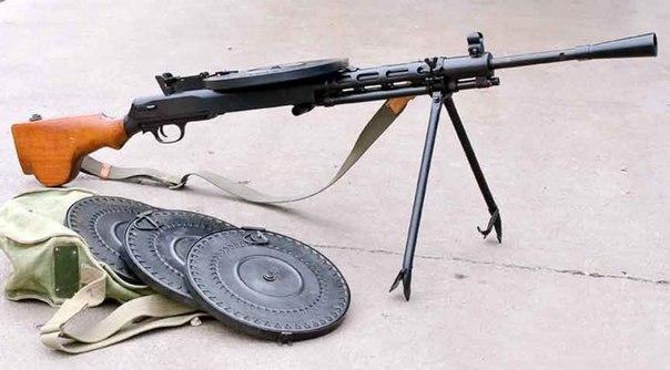 Пулемет-легенда по имени «Дегтярь».