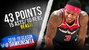 Bradley Beal Triple Double 2019 01 13 Raptors vs Wizards 43 15 10 FreeDawkins