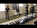 رقص وابداع على بيانو