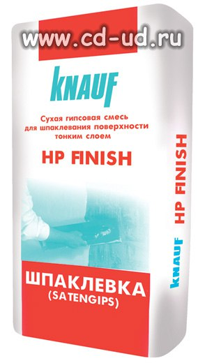 Шпаклевка КНАУФ финиш 25 кг Knauf HP Finish
