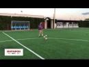 Серхио Рамос тренирует дальний удар