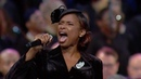 Jennifer Hudson Sings 'Amazing Grace' at Aretha Franklin's Memorial