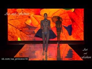 большая подборка засветов моделей + самые сочные бразильские модели на показе нижнего белья