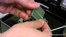 ABB Zenit - установка лампы подсветки в выключатель