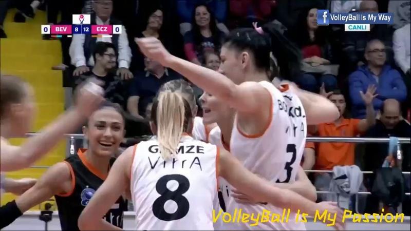 Beylikduzu vs Eczacibasi | 09-11-2018 | Turkey Women Volleyball VVS Ligi 20182019