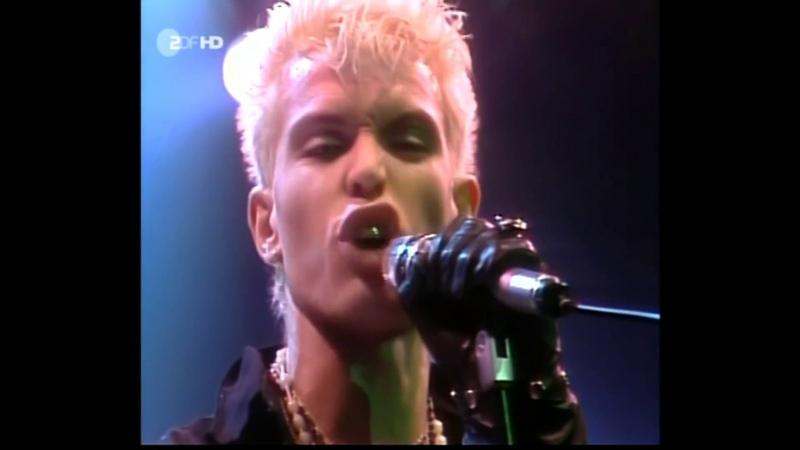 Billy Idol - Eyes without a face ( Original Footage Dec. 1984 Westfalenhalle, Dortmund, Germany )
