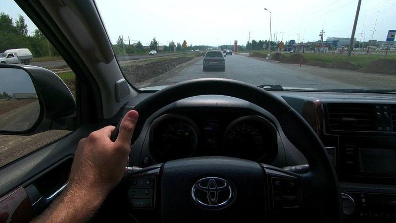 2011 Toyota Land Cruiser Prado 3.0L (173) POV Test Drive