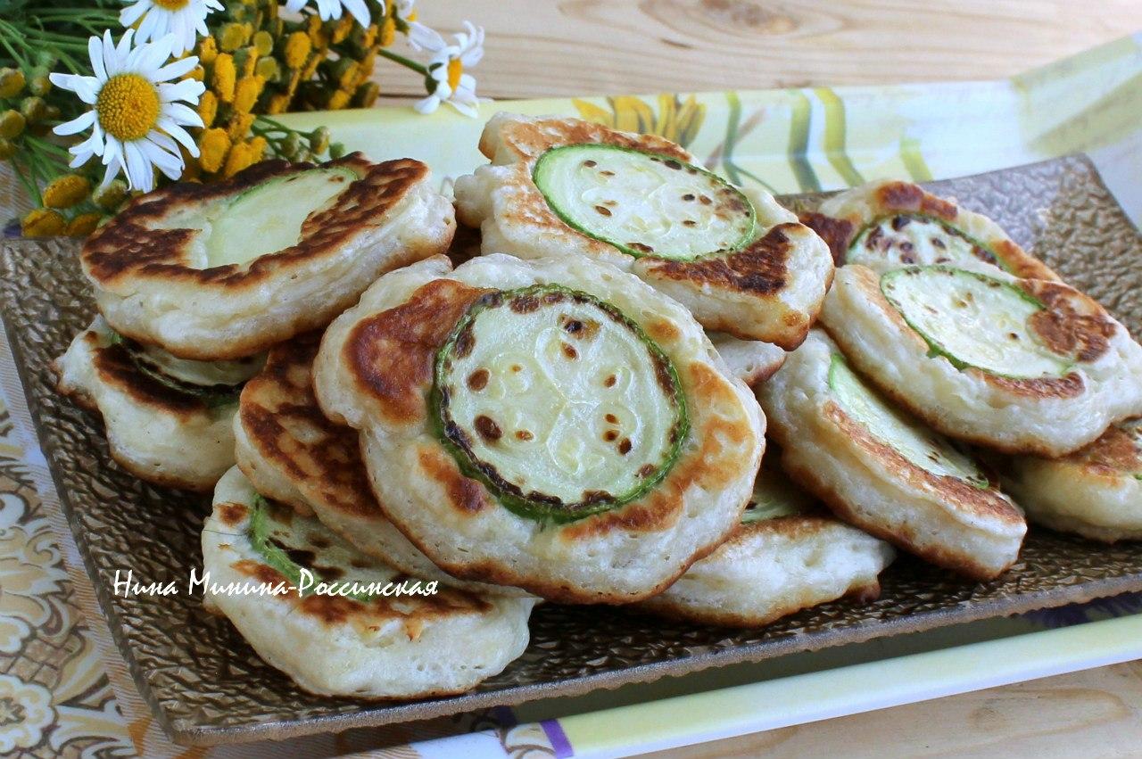 Оладьи из кабачков постные пошаговый рецепт