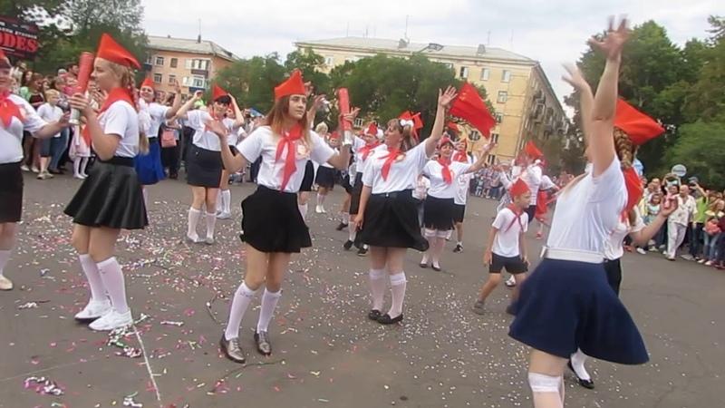 Пионеры на карнавале 18.8.18