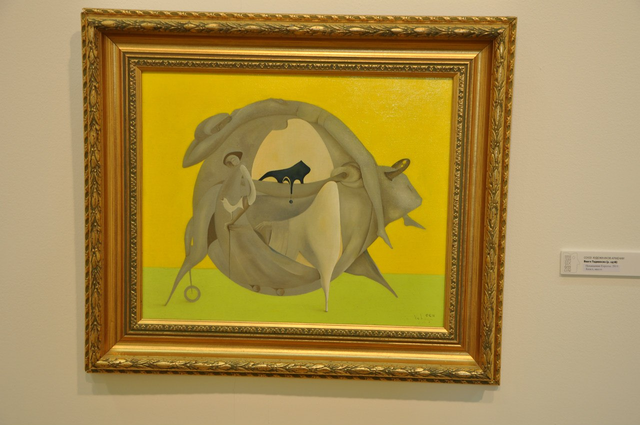 Союз художников Армении  Ваагн Тадевосян (р. 1978)  Похищение Европы. 2011  Холст, масло