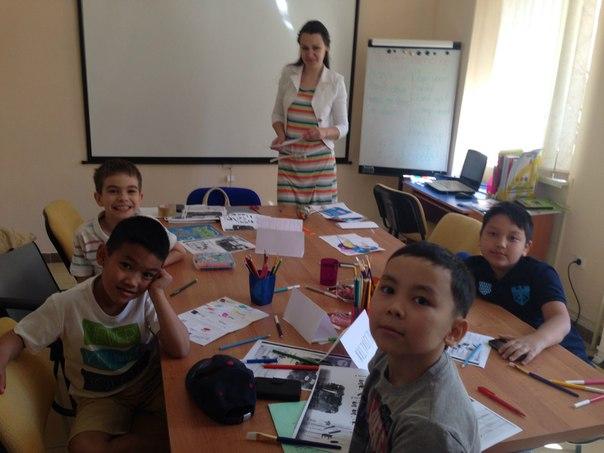 языковой лагерь в астане