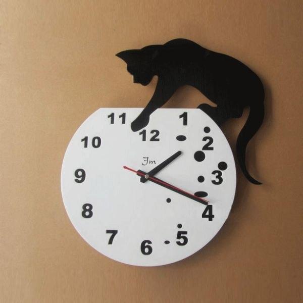 Часы настенные своими руками фото