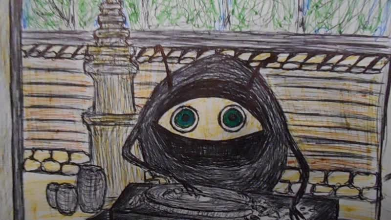Maria Subbotina - Panik (Nevada Tan) Vorbei cover (and cartoon )