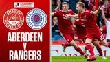 Aberdeen 1-1 Rangers Anderson Grabs Late Equaliser After Morelos Red Card Ladbrokes Premiership