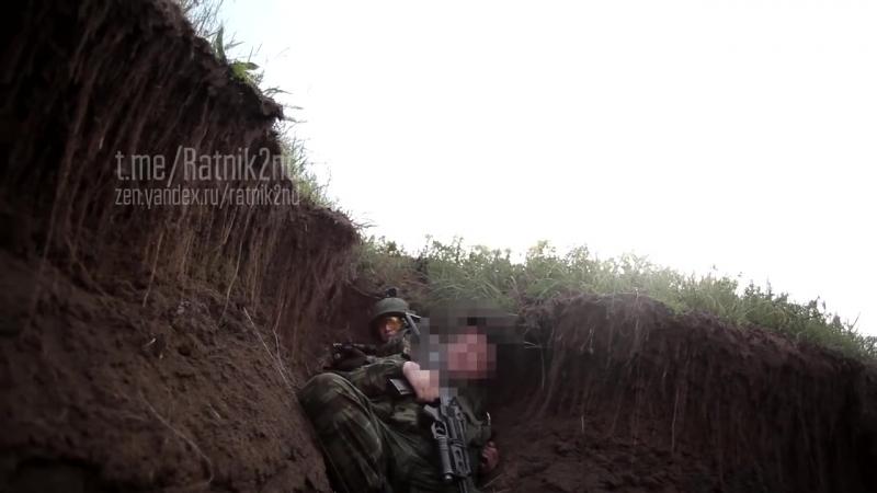 Под минами -май 2018 ,видео от Ратника 2го разряда.