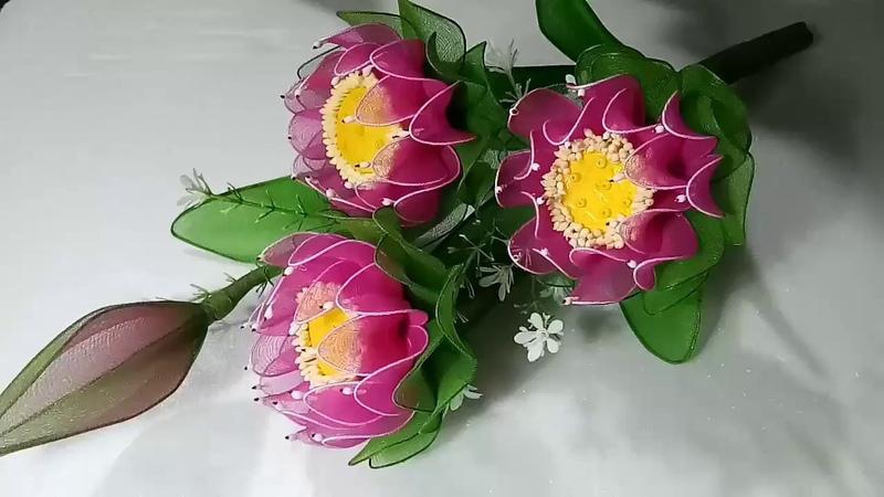 สอนทำดอกไม้ 2 | ดอกบัวถวายพระ