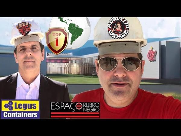 🔥 EXCLUSIVO 💣 Vice Presidente do Flamengo apresenta do Ninho ao Papa e fala de Estádio e Arena
