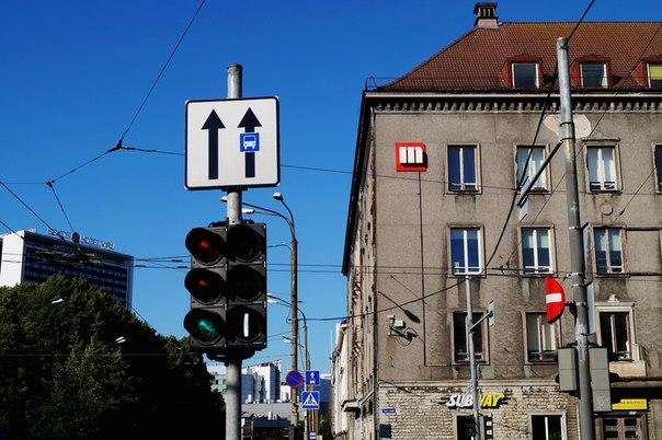 Дорожные знаки в Таллине