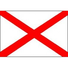 что значит красный флаг с синим крестом