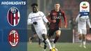 Болонья 0-0 Милан Обзор матча чемпионата Италии Серия А