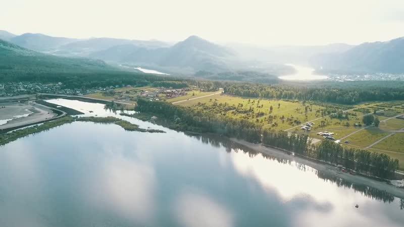 Озеро Манжерок Горный Алтай место силы