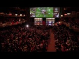 TI3 crowd goes completely crazy at Liquid vs LGD!!