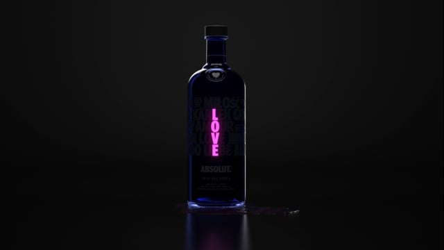Absolut A Drop of Love | FutureDeluxe