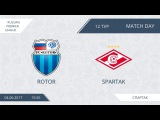 AFL17. Russia. Premier League. Day 12. Rotor - Spartak