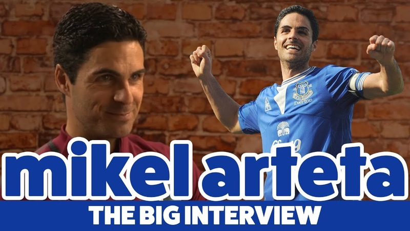 I ALWAYS FELT PART OF THE FAMILY AT EVERTON MIKEL ARTETA THE BIG INTERVIEW