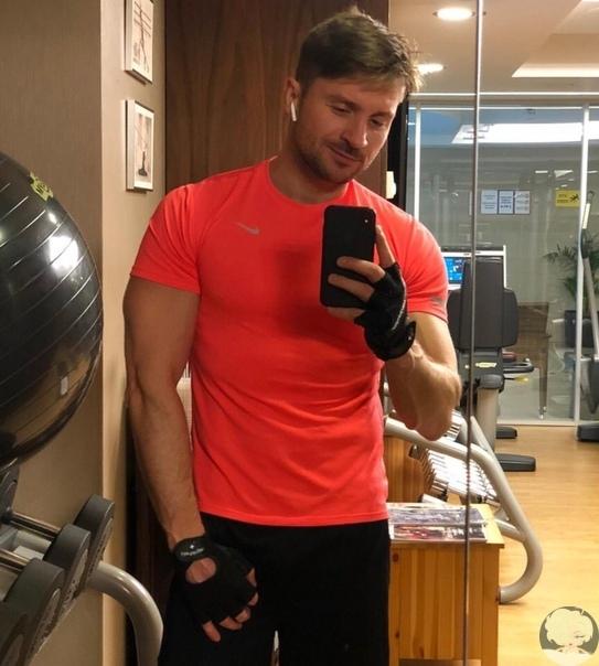 Сергей Лазарев за здоровый образ жизни