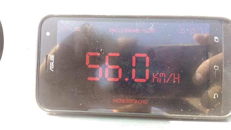Волжанка 46 фиш Y40 VEOS замер скорости.