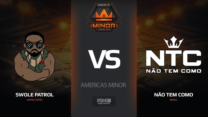 Swole Patrol vs Nao Tem Como, map 2 cache, Americas Minor – FACEIT Major 2018