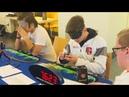 Rubik's Cube Blindfolded World Record - 16.55 Seconds