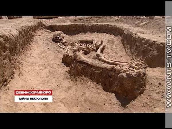 13 07 2018 Учёные открывают тайны некрополя открывшегося на пути трассы Таврида под Севастополем