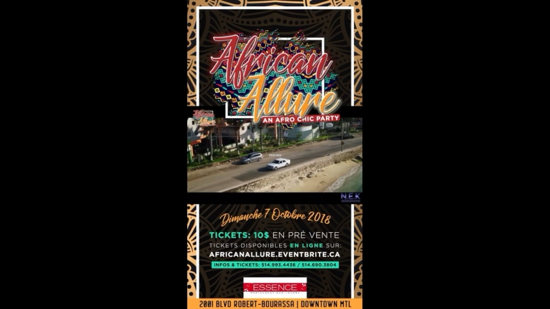 African allure 0ctober 07th @ l'essence Lounge