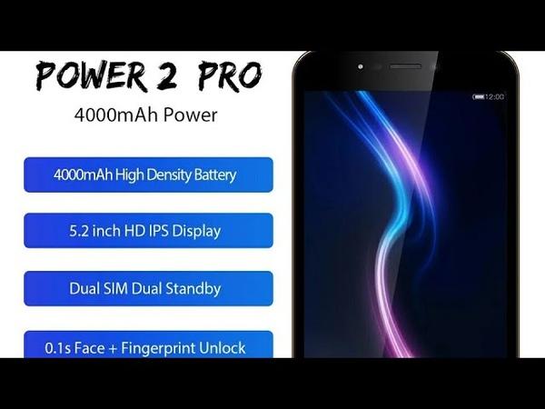 Знакомство со смартфоном LEAGOPOO Power 2 Pro на русском языке