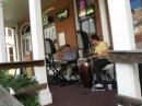 Benny Benack III performs at Irwin's Art Jazz Nite III August 16 2012