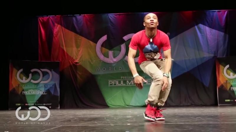 Парень нереально круто танцует Fik Shun World of dance Las Vegas 2014