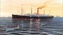 RMS Carpathia And submarinoalemán U-55 Hundimiento Animación