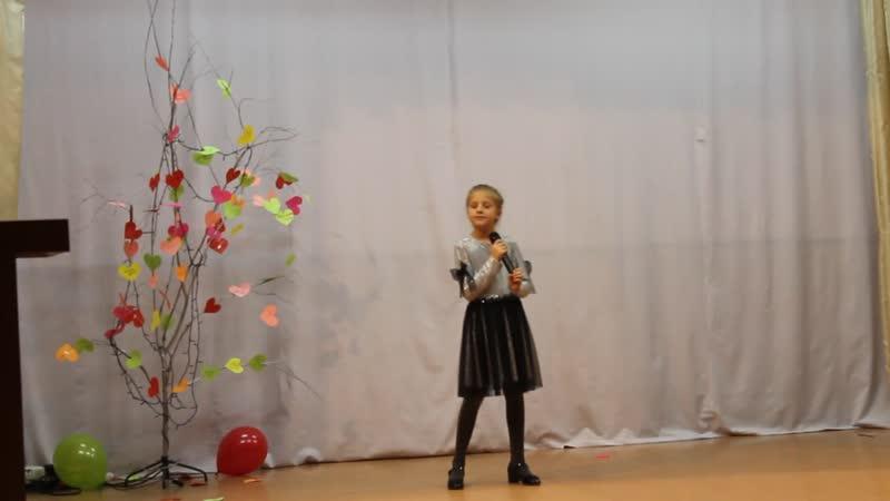 Парфенова Виолетта, п. Корнево, песня Подари улыбку миру