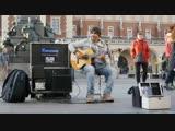 Spanish guitar and street musician - Испанская гитара и уличный музыкант.mp4