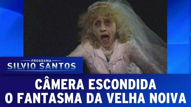Programa Silvio Santos (23/10/16) - O Fantasma da Velha Noiva