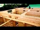 Азнакаево. Процесс строительства дома из бруса