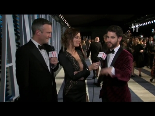 Darren Criss is ready for an award-winning #VFOscars night