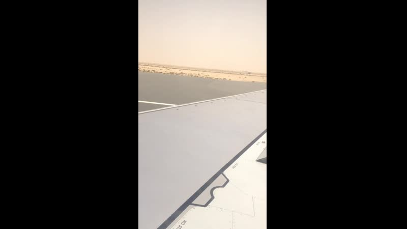 Boeing 737 800 VQ BRF а к Royal Flight посадка в аэропорту Аль Мактум Рейс Уфа Дубай