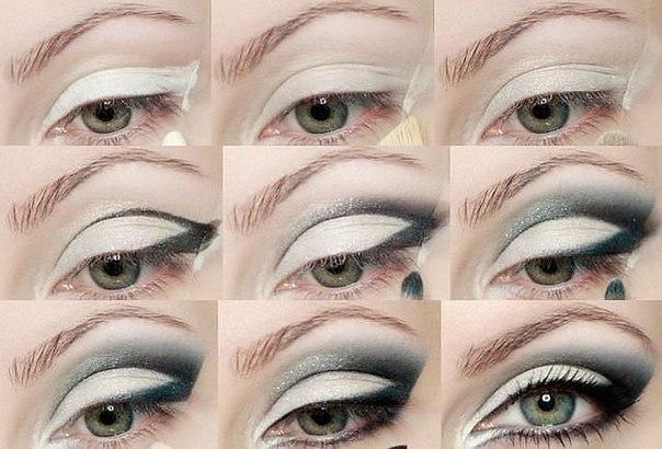 Макияж глаз - виды стрелок