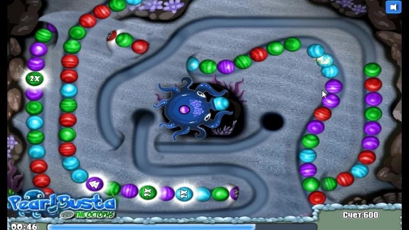 Игра Жемчужина осьминога