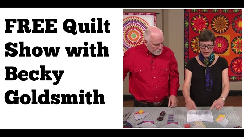 2401 Becky Goldsmith: Block of the Month Quilt 2019- English/Spanish/Russian